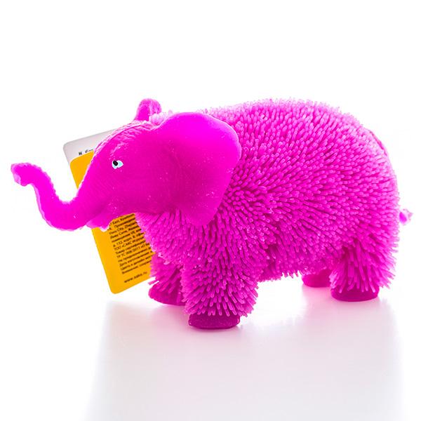 HGL SV11190 Фигурка слон с резиновым ворсом с подсветкой в ассортименте