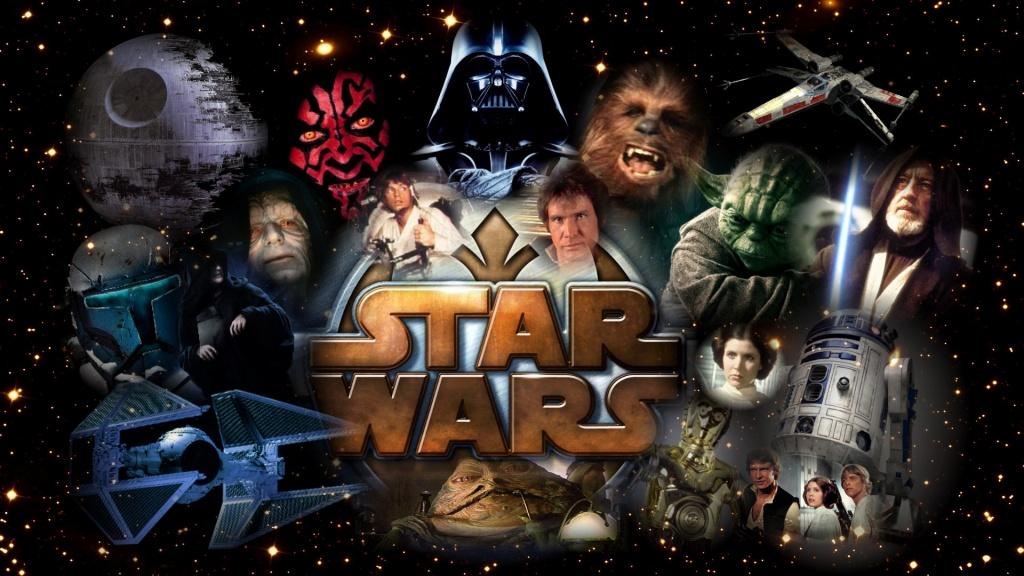 Герои космической саги Звездные войны