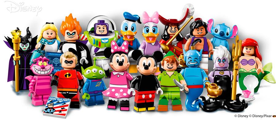 Минифигурки Лего Дисней Lego Disney