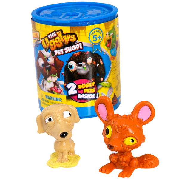 The Ugglys Pet Shop (2 случайные фигурки в упаковке)