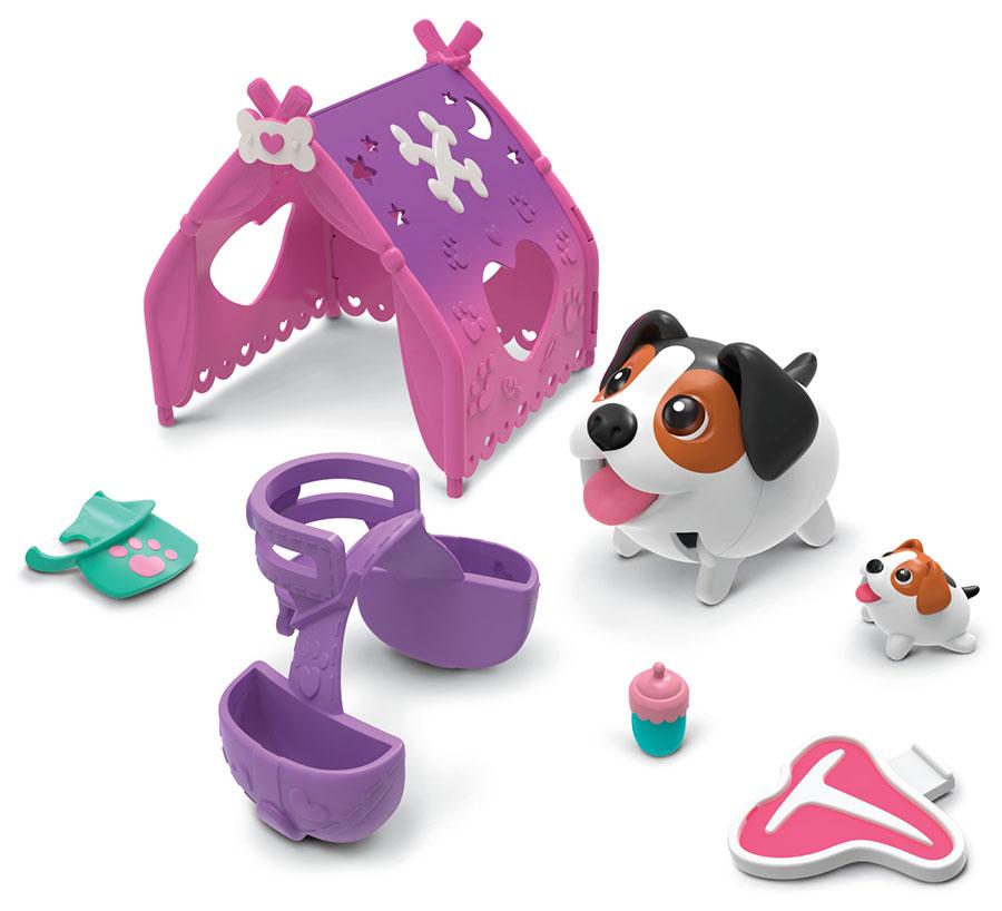 """Chubby Puppies 56724 Упитанные собачки Игровой набор """"Туристическая палатка"""""""