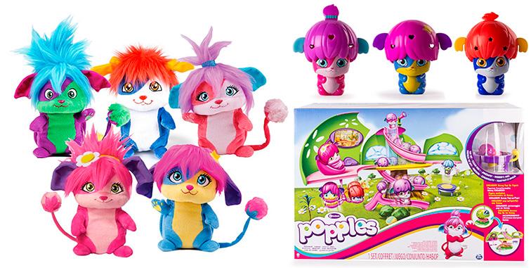 Игрушки Малыши Прыгуши - Popples