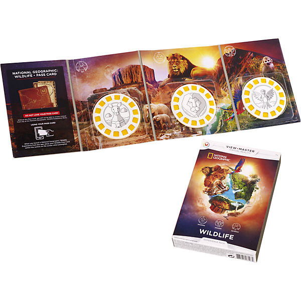 """View Master DLL71 Набор визуализации """"National Geographic"""""""