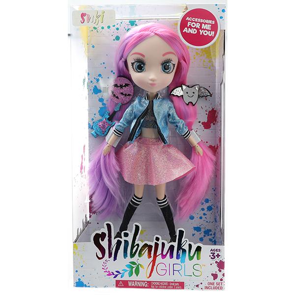 Shibajuku Girls HUN8699 Кукла Сури 4, 33 см