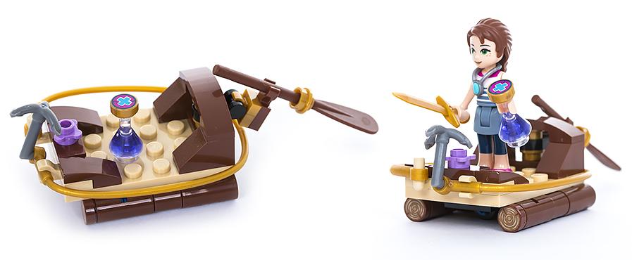 Конструктор LEGO Elves 41188 Побег из крепости Короля гоблинов