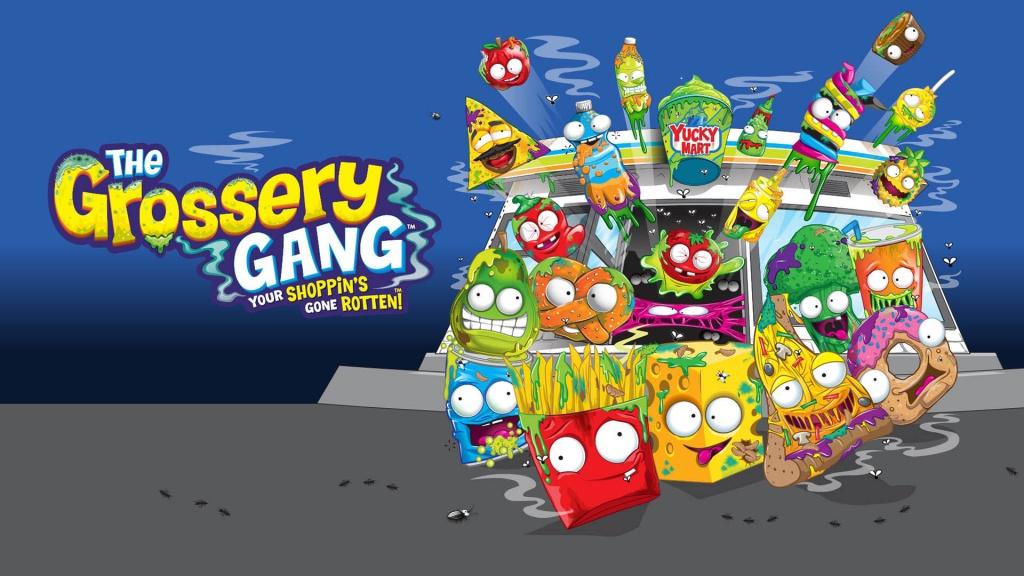 Фигурки испорченных продуктов Grossery Gang