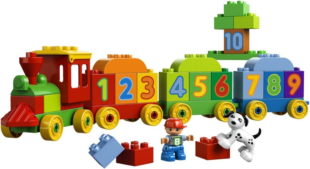 Лего Дупло 10847 Поезд Считай и играй