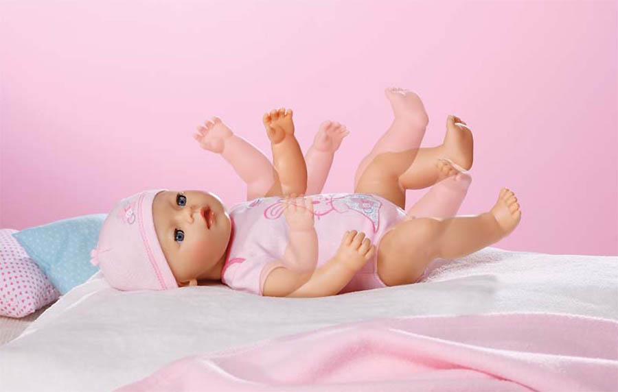 Интерактивная кукла Zapf Creation Baby born 820-414 Бэби Борн Кукла 43 см