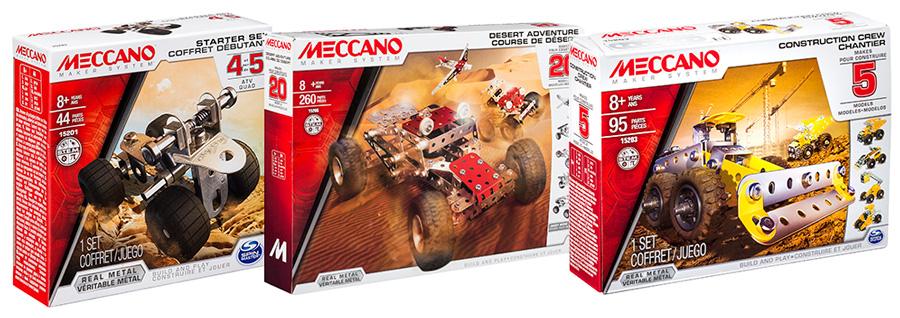 Металлические конструкторы Meccano Меккано