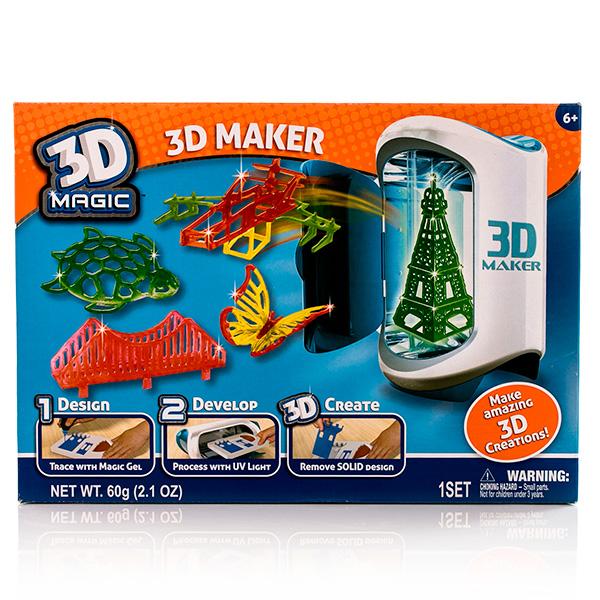 3D Magic W81000 Набор для создание объемных моделей 3D Maker2