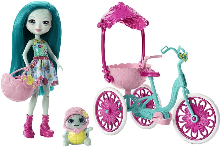 """Mattel Enchantimals FCC65 Игровой набор """"Прогулка на велосипеде"""""""