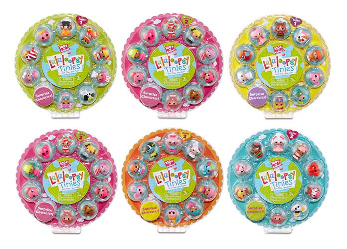 Кукла Lalaloopsy Tinies 529514 Малютки в ассортименте, упаковка из 10 шт