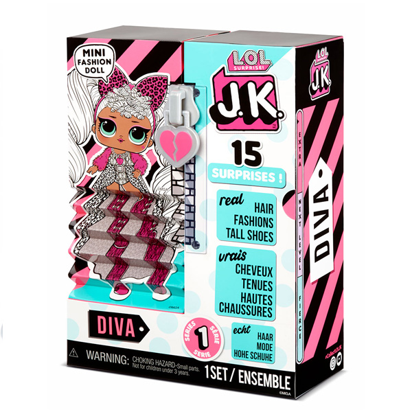 L.O.L. Surprise 570752 Куколка J.K. - Diva