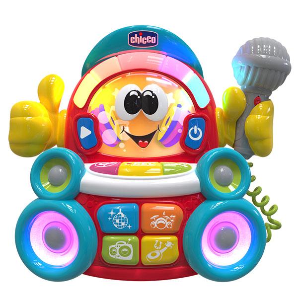 CHICCO TOYS 9492AR Музыкальная игрушка Караоке (есть русский язык)