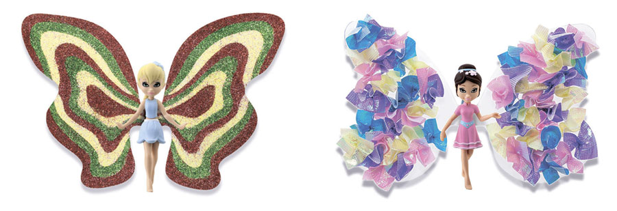 Куклы Феи Букетик и Тюльпан Shimmer Wing