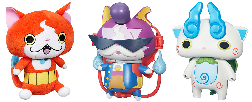 Фигурки Yo-Kai Watch Йокай