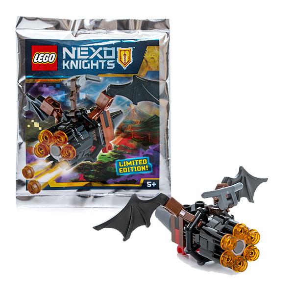 Lego Nexo Knights 271609 Лего Нексо Летучая мышь с оружием