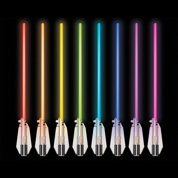 Star Wars Science 15078 Звездные Войны Световой меч-светильник, 8 цветов