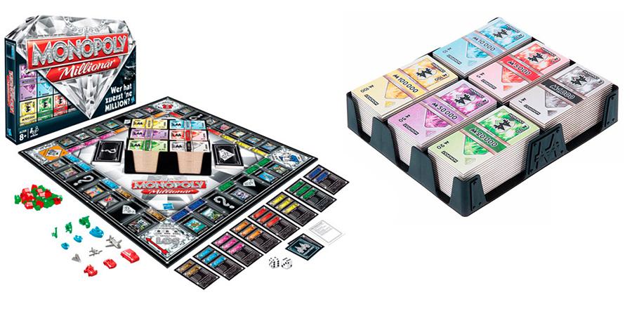 Настольная игра Hasbro Games Монополия Миллионер