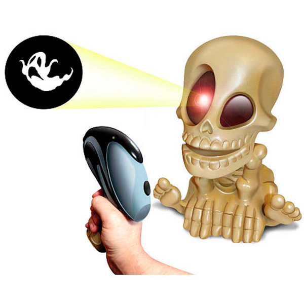 Интерактивная игрушка Johnny the Skull 0669 Проектор Джонни Череп с бластером