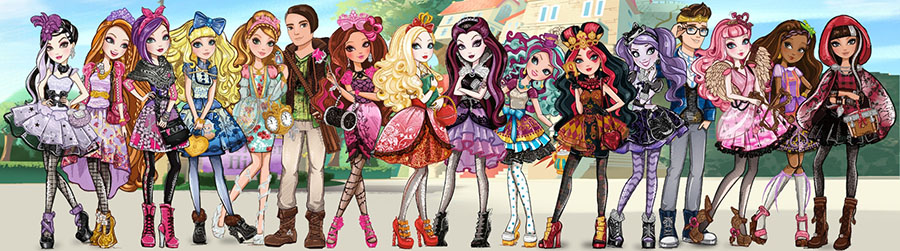 персонажи Ever After High