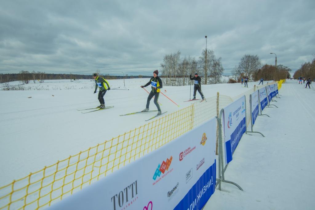 19 февраля компания TOY.RU приняла участие в качестве партнера в благотворительном мероприятии «Лыжня 6250»