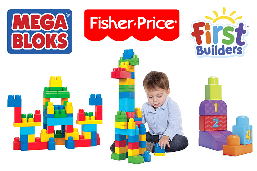 MEGA BLOKS Fisher-Price First Builders