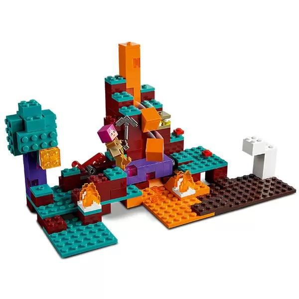 LEGO Minecraft 21168 Конструктор ЛЕГО Майнкрафт Искажённый лес
