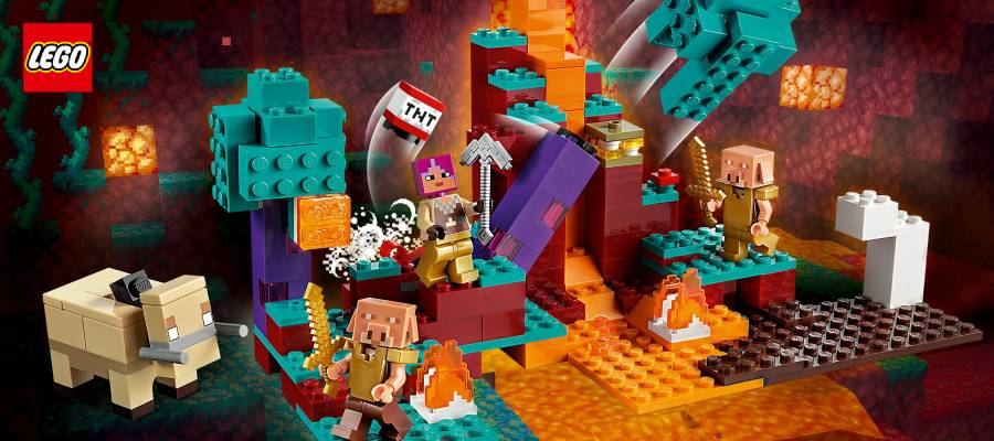 Конструкторы Lego Mineсraft (Лего Майнкрафт)
