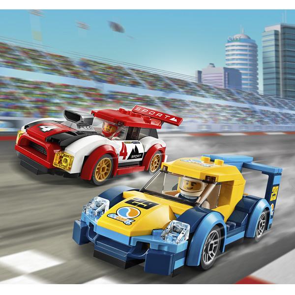 LEGO City 60256 Конструктор ЛЕГО Город Turbo Wheels Гоночные автомобили