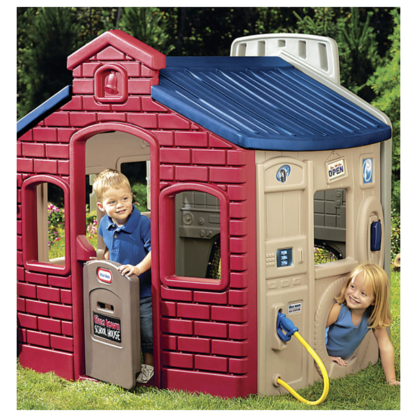 Игровой домик Литл тайкс 444D (спорт, школа, заправка, магазин)