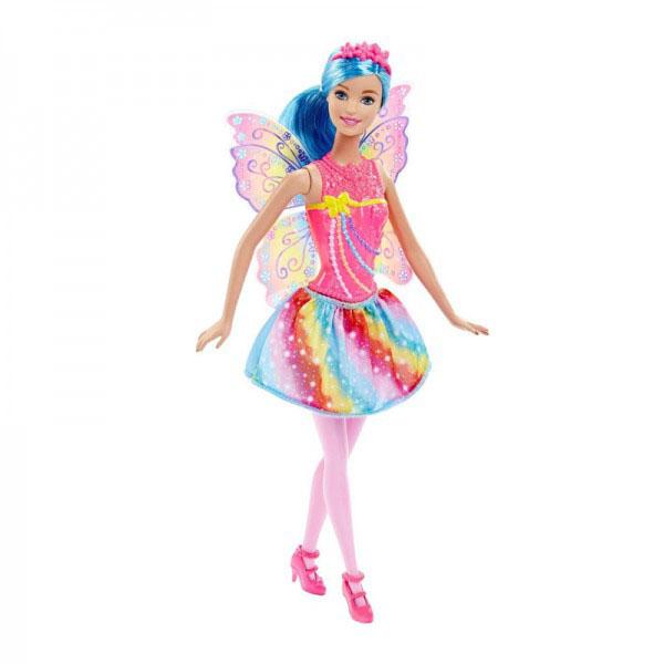 Barbie DHM56 Барби Кукла-принцесса Rainbow Fashion