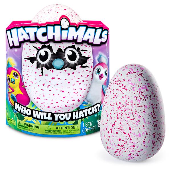 Hatchimals 19100-PEN-PINK Хетчималс Пингвинчик- интерактивный питомец, вылупляющийся из яйца