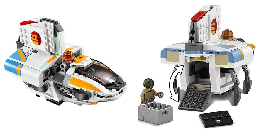 конструктор LEGO Star Wars 75170 Фантом