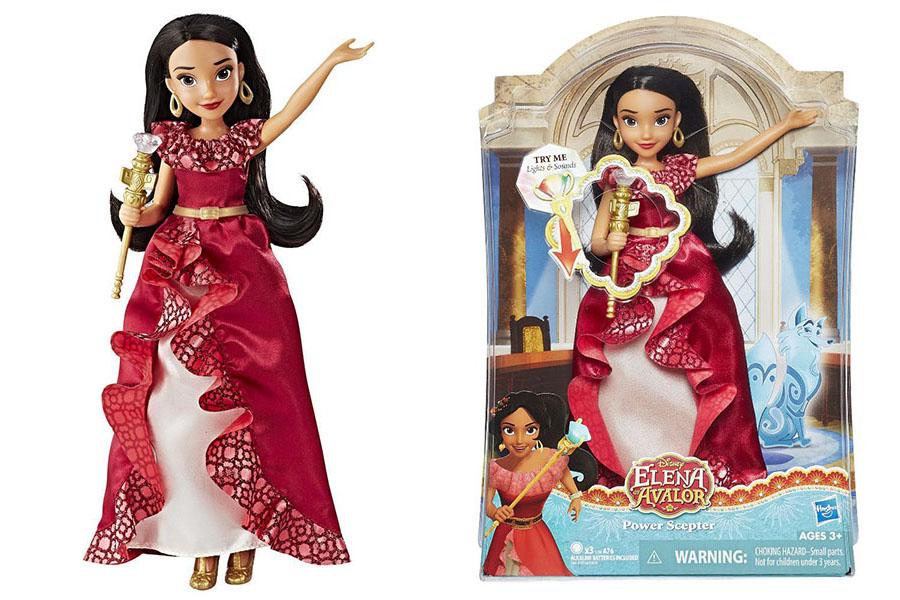 Hasbro Disney Princess C0379 Кукла Елена - принцесса Авалора и волшебный скипетр со свет. эффектами