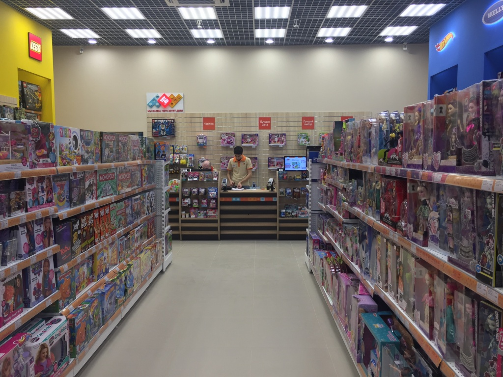 Новый магазин в Москве