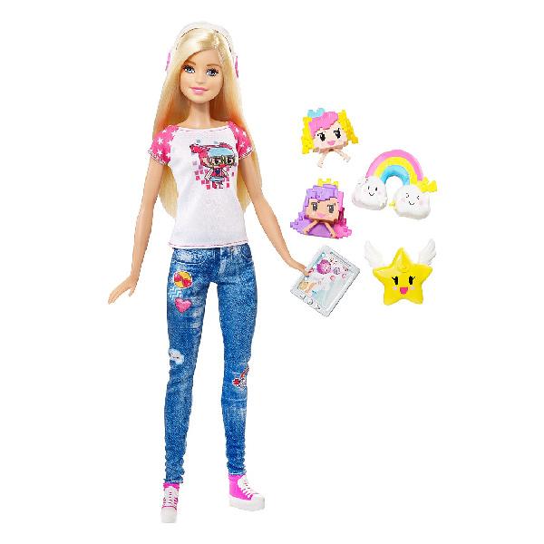 """Barbie DTV96 Барби Кукла-геймер из серии """"Barbie и виртуальный мир"""""""