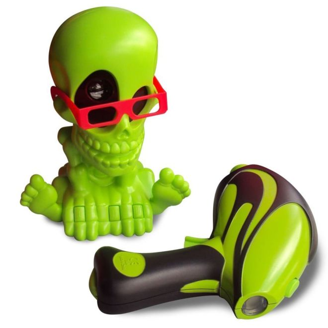 Johnny the Skull 3053-2 Тир проекционный 3D Джонни-Черепок с 2-мя бластерами