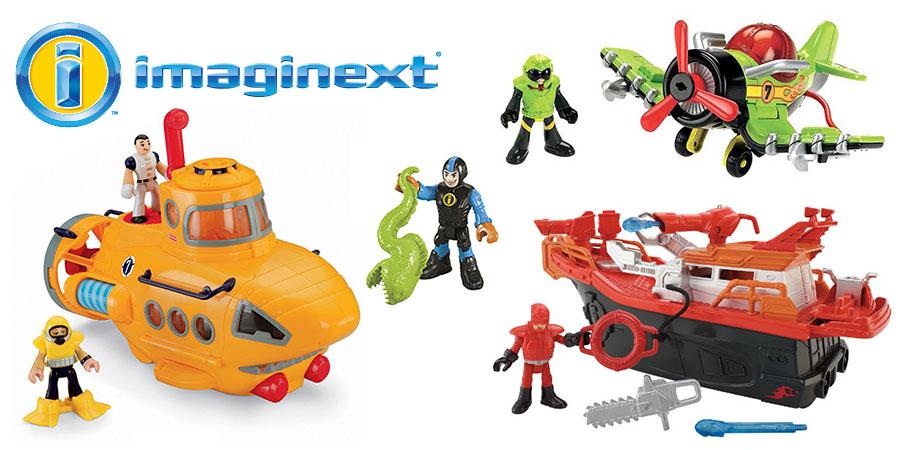 Игровые наборы Imaginext от Mattel