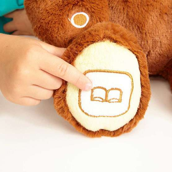 Luv'n Learn 20020L Интерактивный медведь коричневый