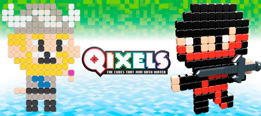 Фигурки Qixels