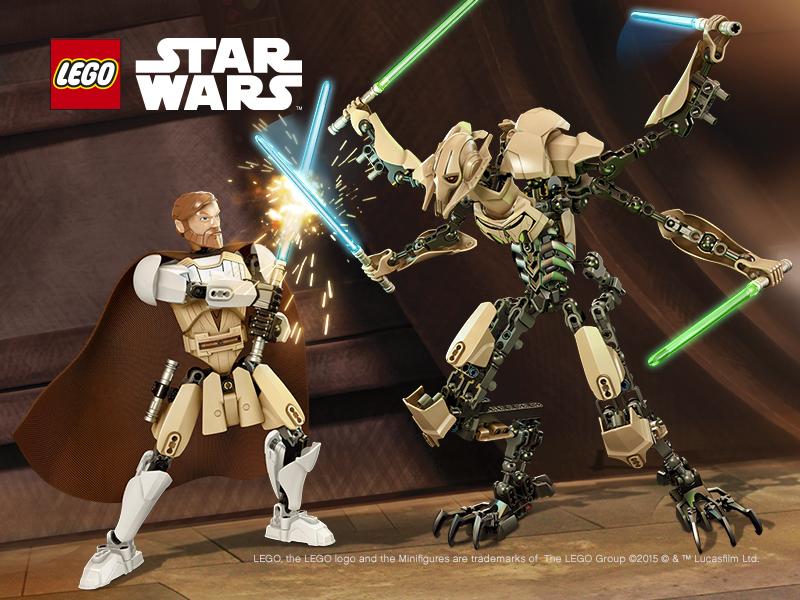 Подвижные фигурки Lego Star Wars