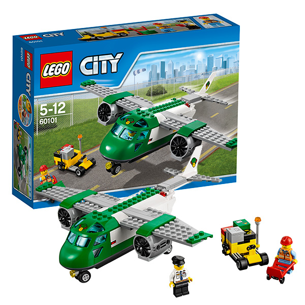 Lego City 60101 Лего Сити Грузовой самолёт