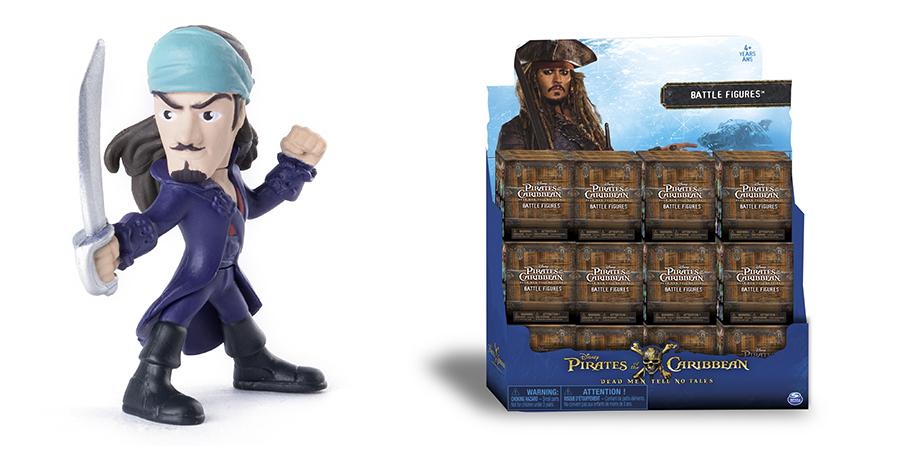 Pirates of Caribbean 73100-P Мини-фигурка пирата или чудовища, в ассортименте