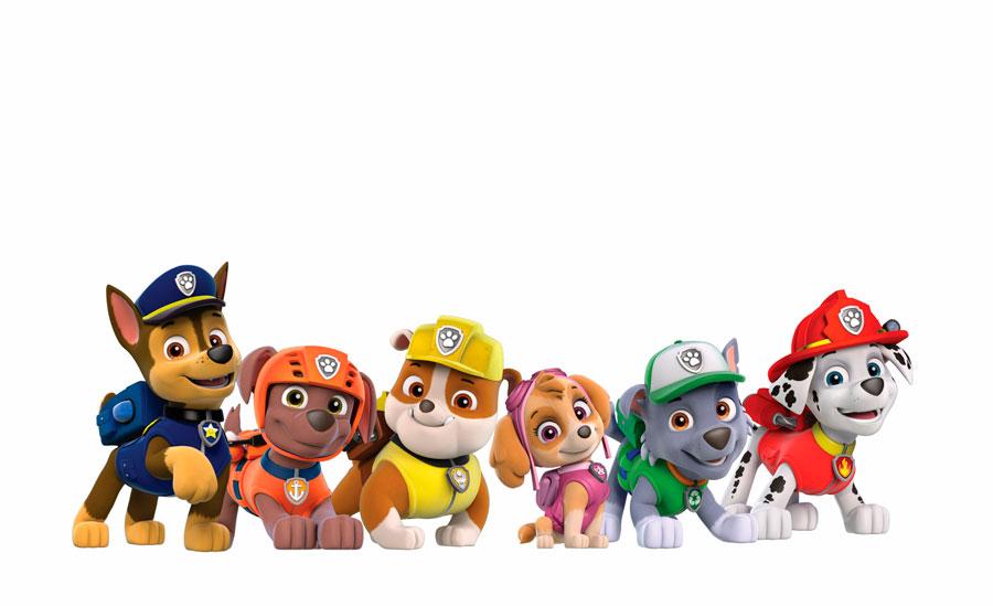 Щенки-спасатели: Чейз, Зума, Крепыш, Скай, Рокки и Маршалл