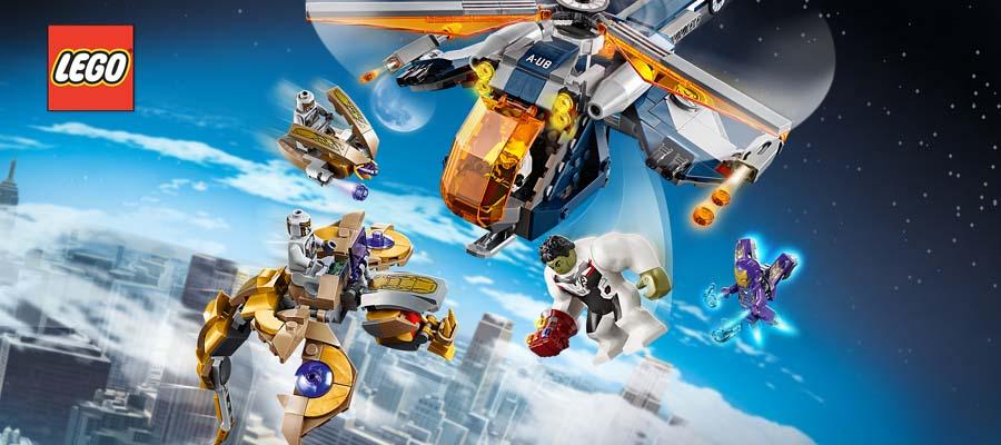 Конструкторы LEGO Super Heroes