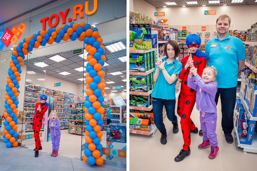 встречаем гостей в новом магазине TOY.RU