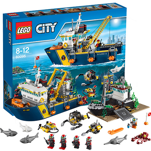 Конструктор Lego City 60095 Лего Город Исследовательский корабль