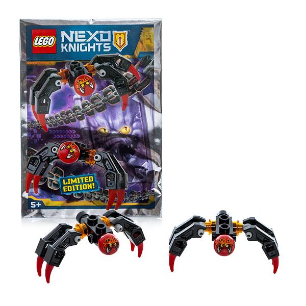 Lego Nexo Knights 271604 Лего Нексо Пауки