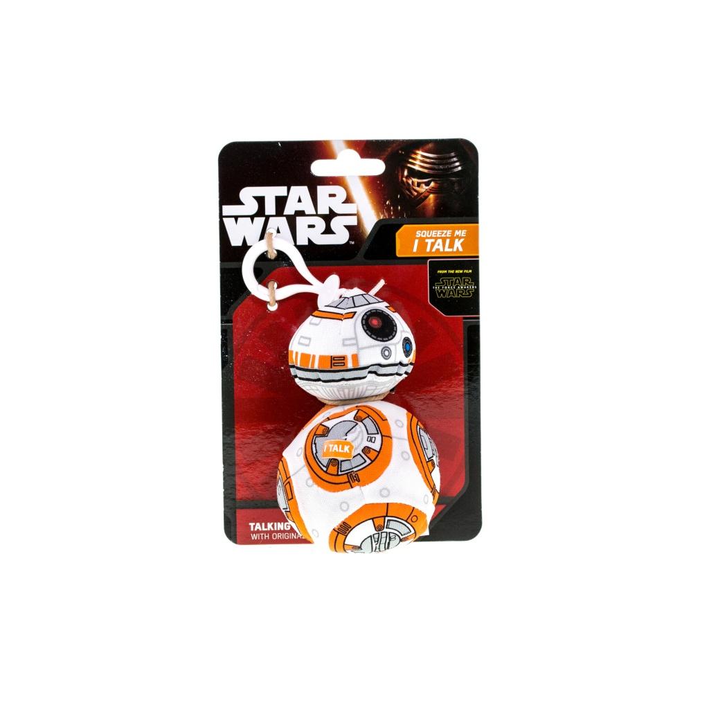 Star Wars SW01900 Звездные войны Эпизод 7 Брелок дроид ВВ-8 со звуковыми эффектами